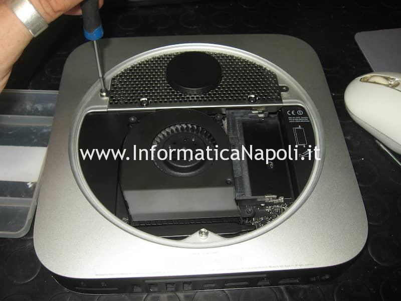 artefizi video Apple Mac Mini Mac A1347 Intel HD 4000 chime loop