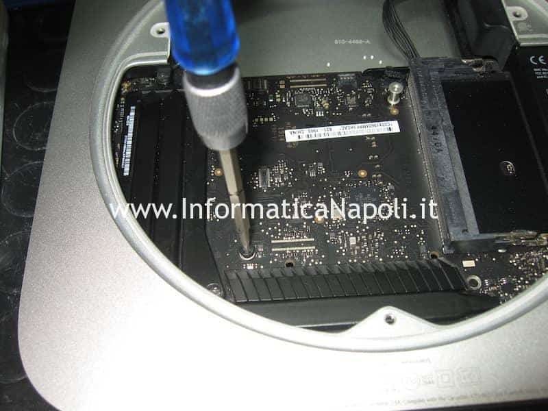 Mini Mac A1347 logic board 820-3227-B problema avvio