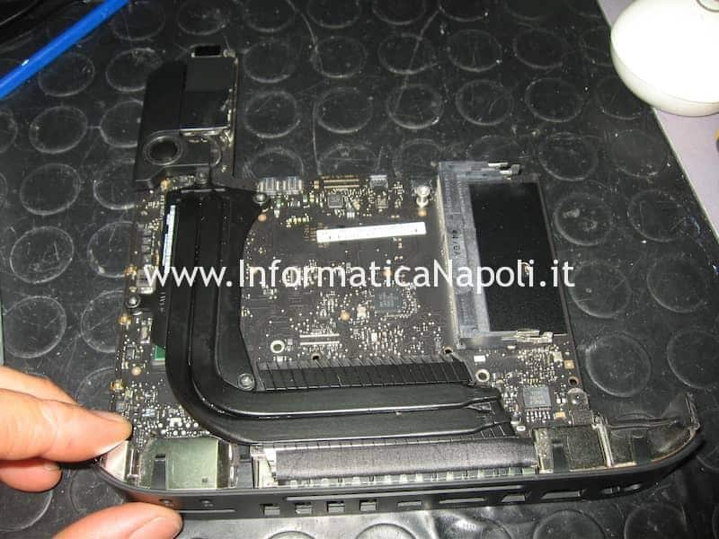 logic board 820-3227-B Apple Mac Mini A1347 suono avvio ripetuto