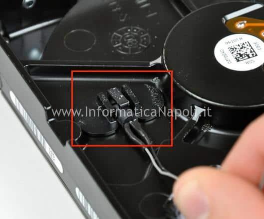 sensore HDD SSD imac