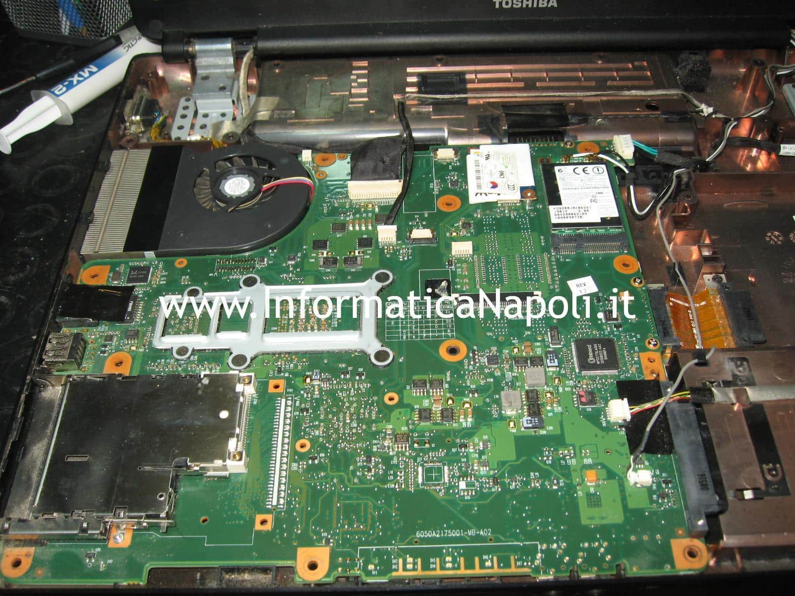 scheda madre Toshiba Satellite L350D - 12G PSLE8E