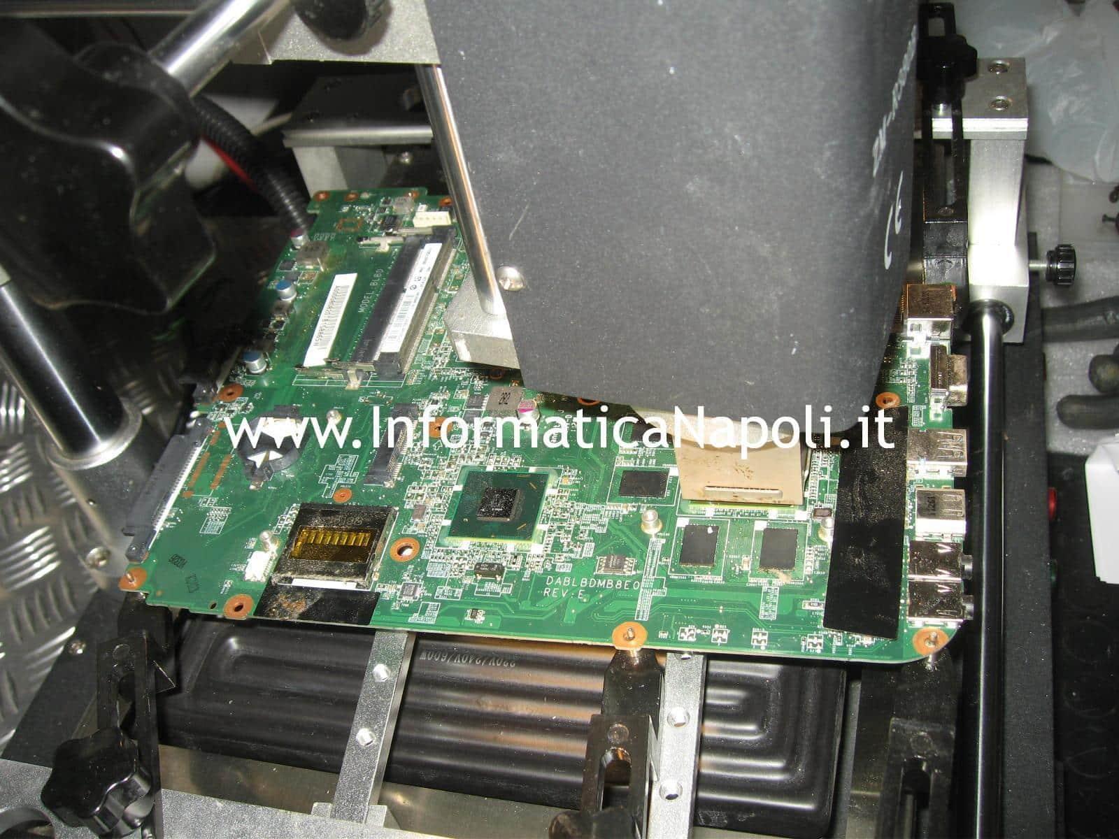 reballing rework reflow Toshiba Satellite L350D - 12G PSLE8E
