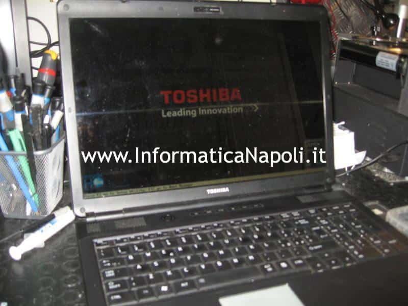 Toshiba Satellite L350D - 12G PSLE8E riparato funzionante