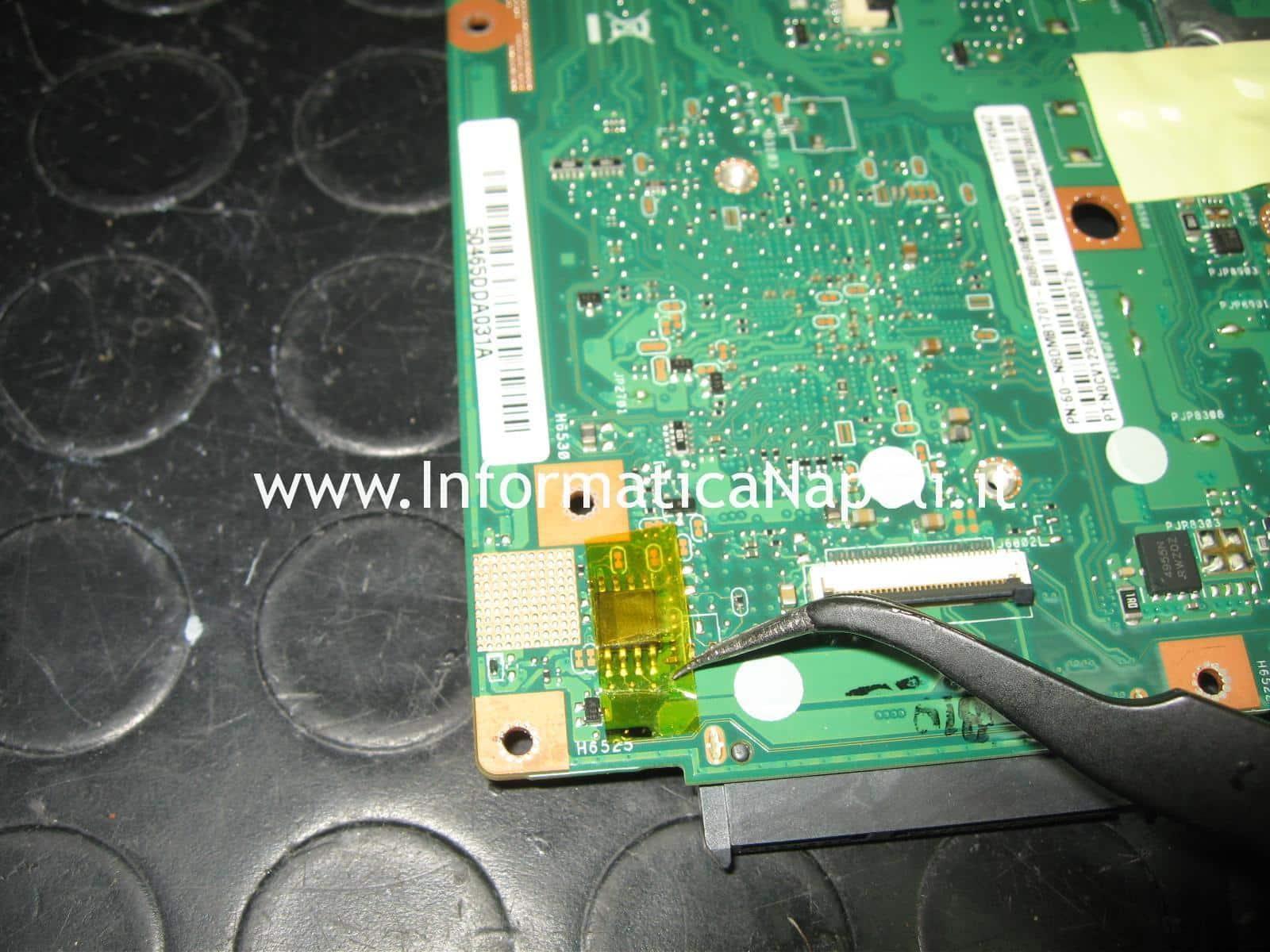 SPI-Flash MacronixMX25L644 ASUS A55V K55VD