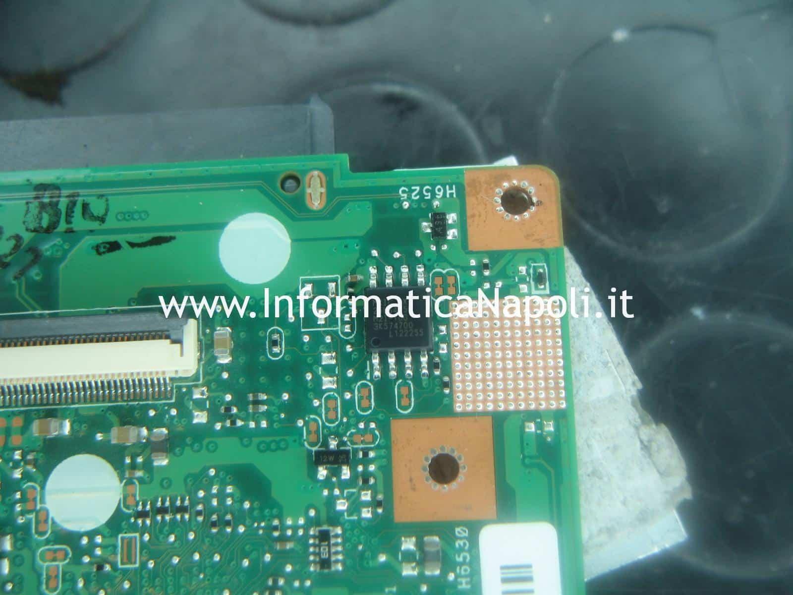programmare bios Macronix MX25L644 ASUS A55V K55VD