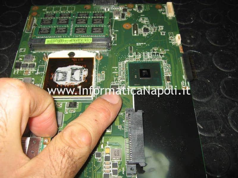 programmare bios SPI Flash Asus K52F X52F-SX053V