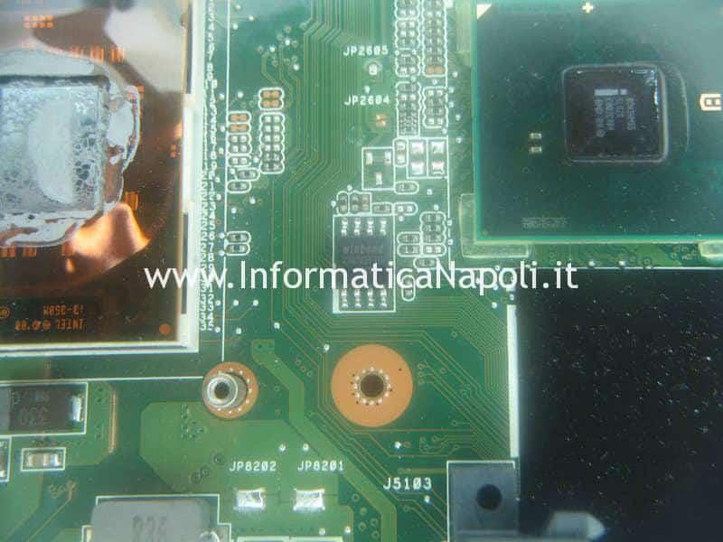 revovery bios SPI-Flash Winbond W25Q32 Asus K52F X52F-SX053V
