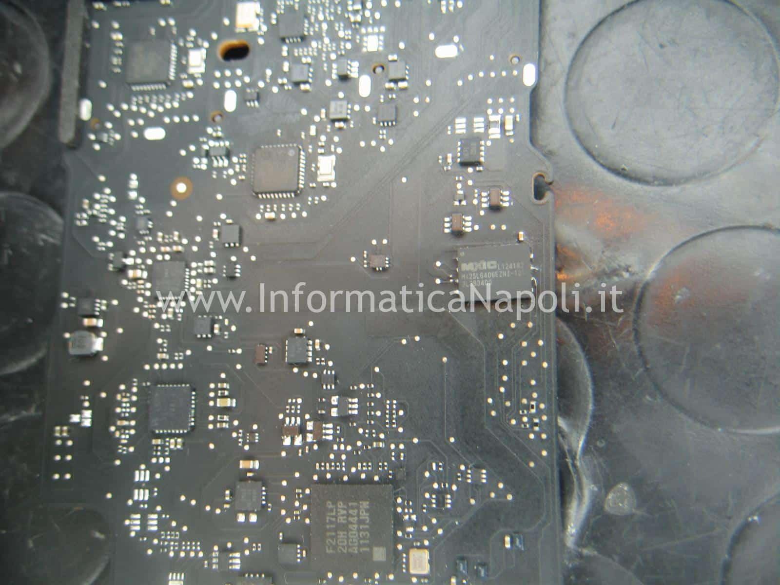bios smd MXIC MX25L64 MX25L6406EZ ripristino scheda logica 820-3437-B | 820-3209-A | 820-00165-A | 820-3023-A | 820-3838-A