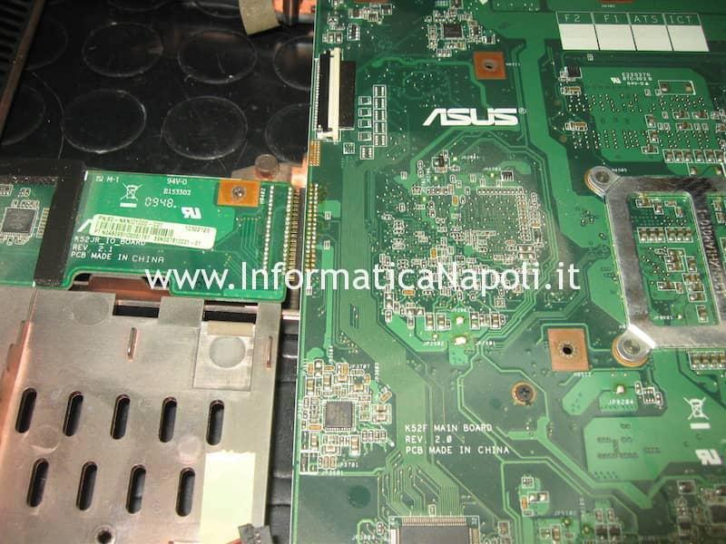 problemi mother board Asus A52F k52F A52F-SX072V