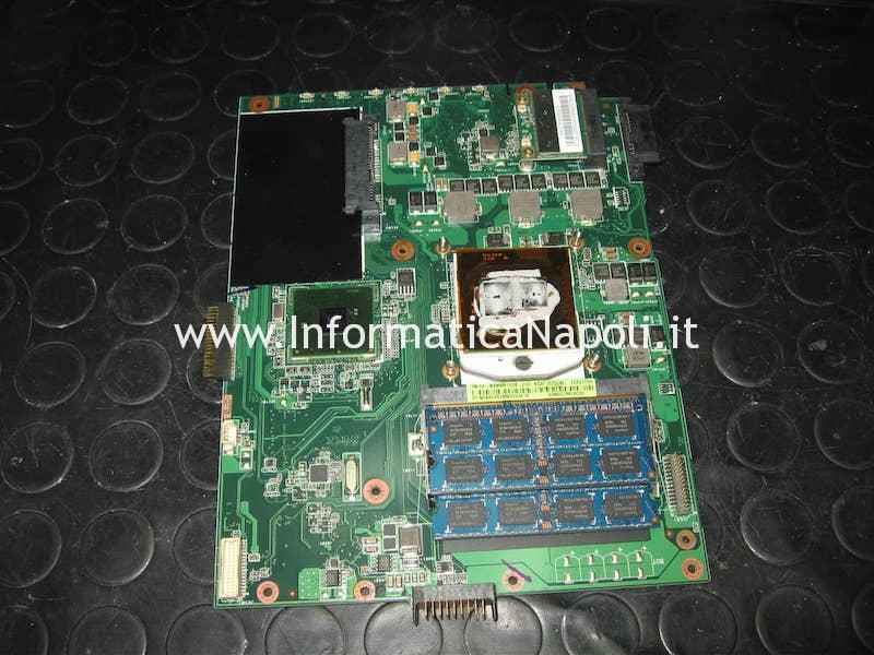 riparazione scheda madre Asus A52F k52F A52F-SX072V