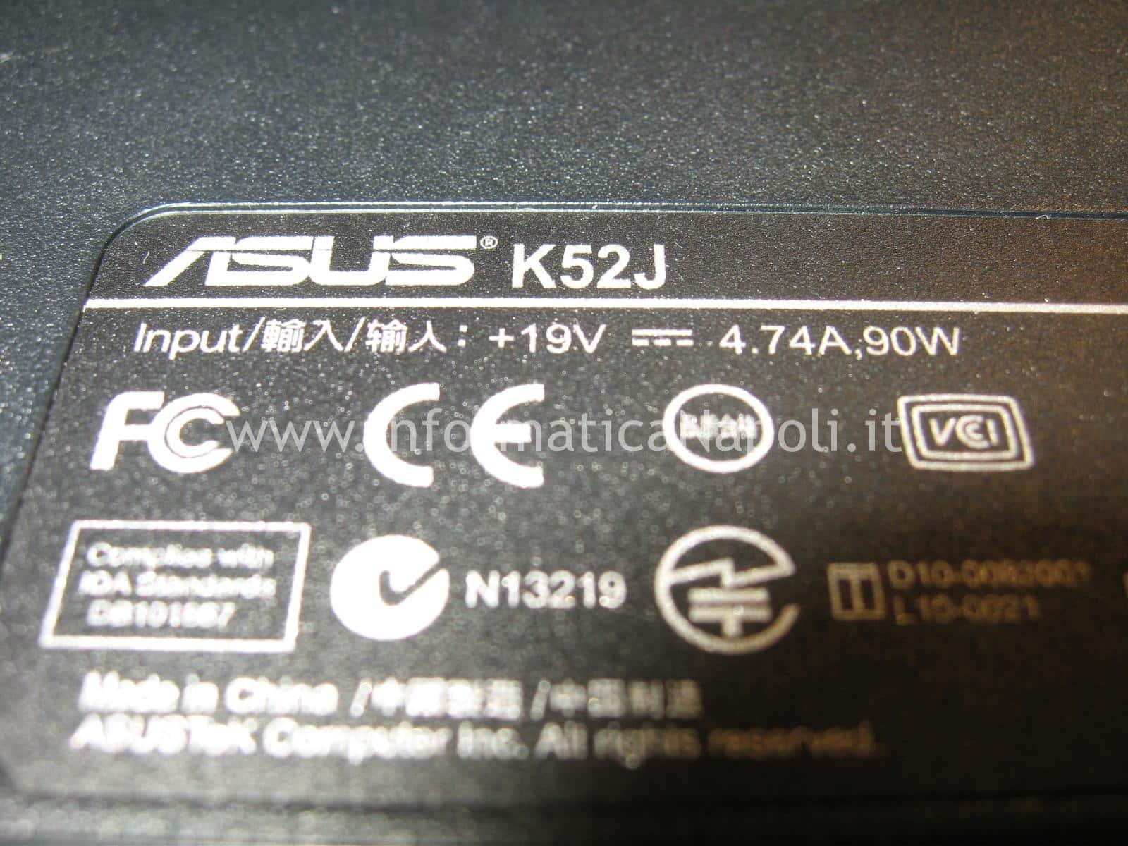 Asus K52J K52JT-SX388X