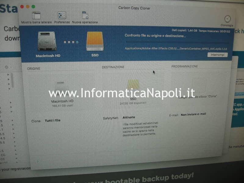 installare SSD Mac Mini A1347