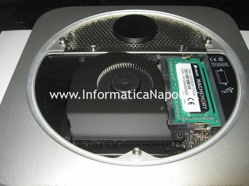 come aprire Apple Mac Mini A1347