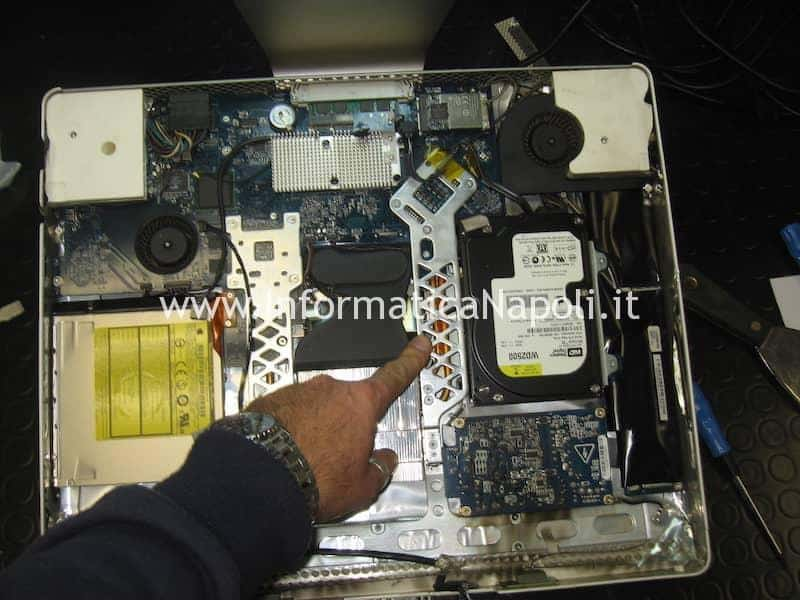Problema disco iMac 20 EMC 2105 vintage