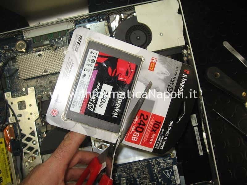 SSD kingston iMac 20 EMC 2105 vintage