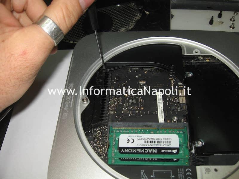 scheda logica Apple Mac Mini A1347   assistenza apple