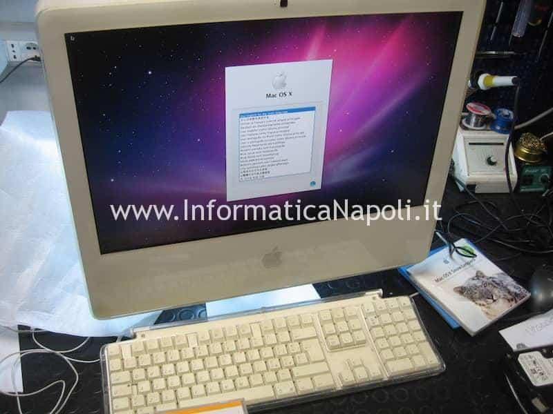 iMac 20 white 2006 installato funzionante