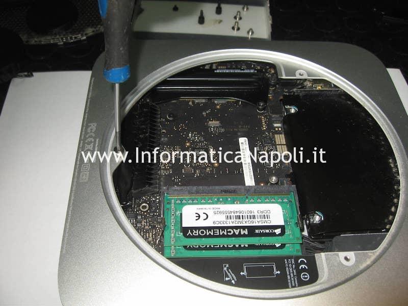 sostituzione scheda logica Apple Mac Mini A1347