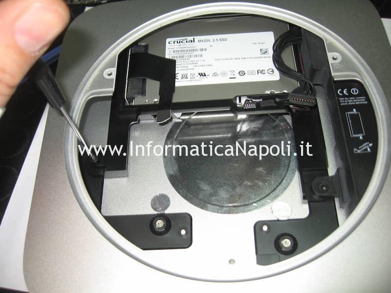 secondo disco SSD Apple Mac Mini A1347