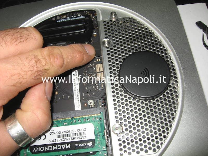 riparazione scheda logica Apple Mac Mini A1347