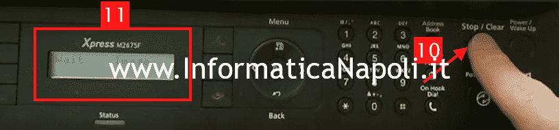 stampante samsun non accetta toner compatibili
