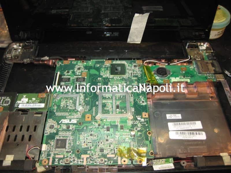 scheda madre Smontare K52J K52JT-SX388X rev 2.3A