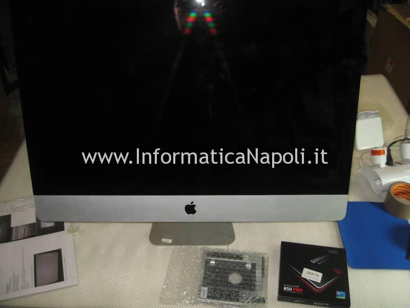 Upgrade SSD Fusion Drive Apple iMac 27