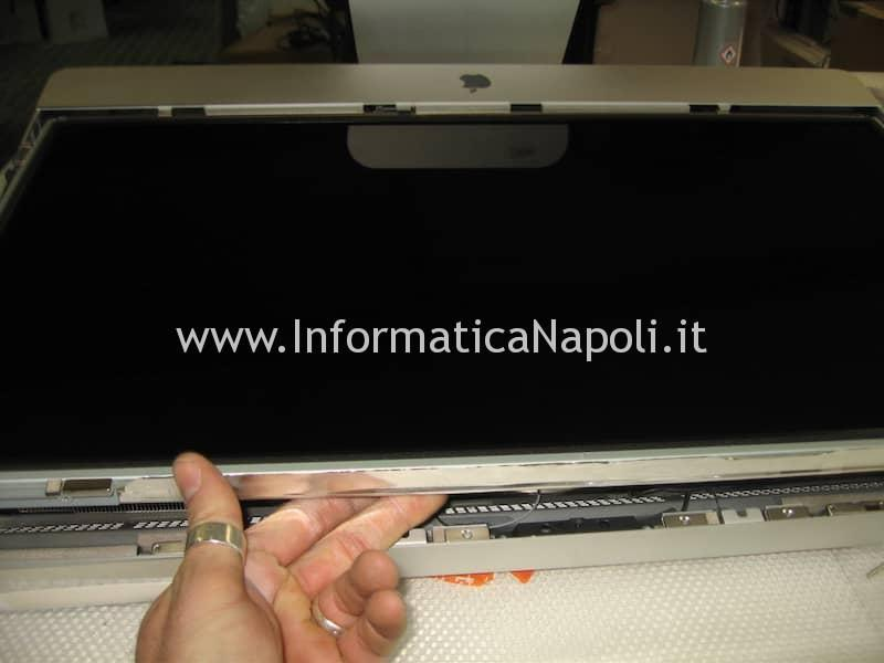 come aprire display apple imac 27