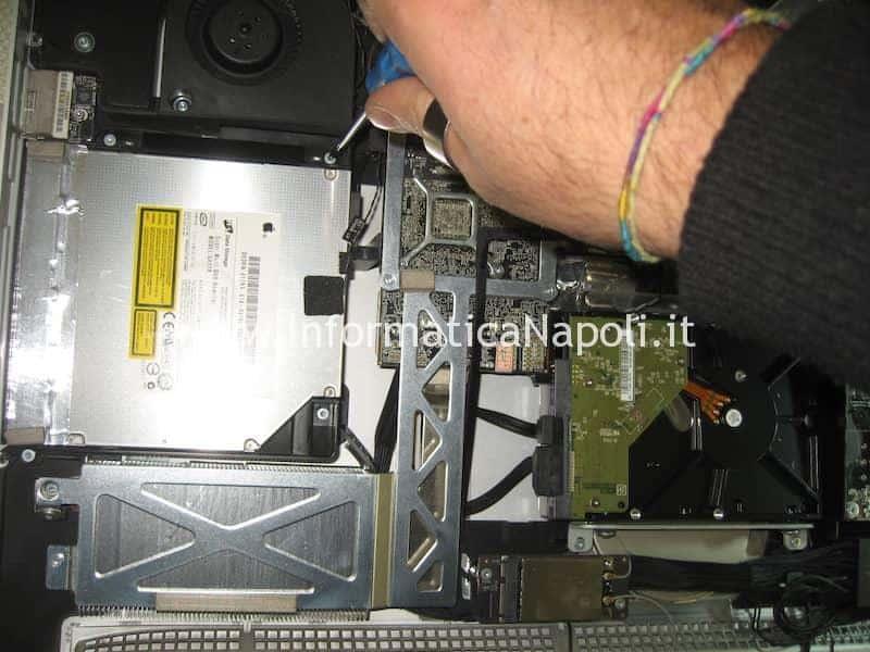 assistenza upgrade SSD Fusion Drive Apple imac 27