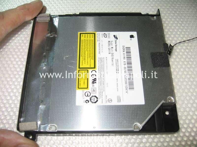 SSD al posto del superdrive apple imac