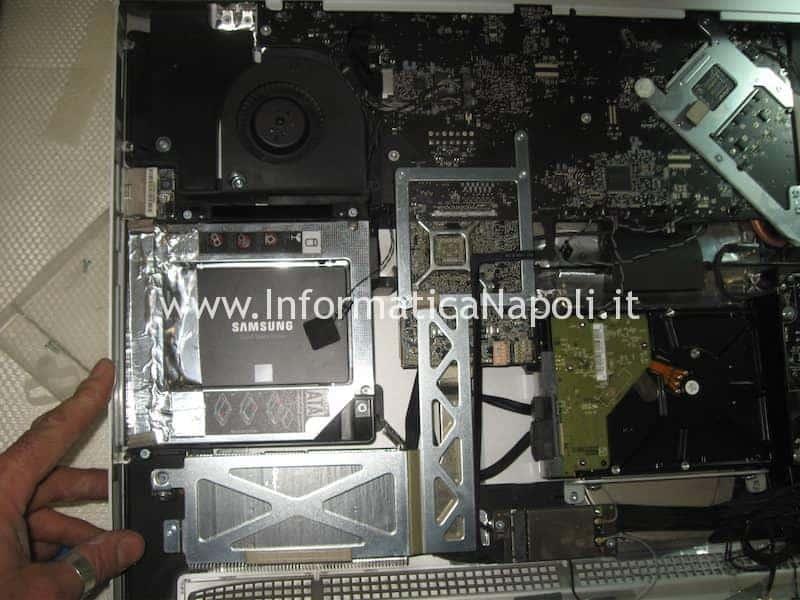 installare un SSD Crucial su Apple iMac
