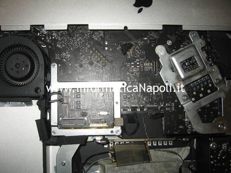 """scheda logica iMac A1311 21.5"""" 820-2784-A schermo nero"""