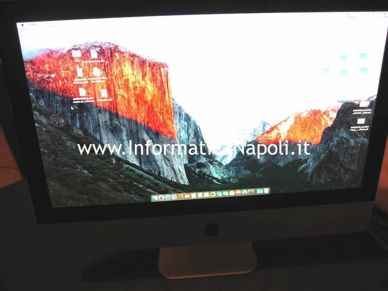 """problema apple imac A1311 21.5"""" 820-2784-A riparato funzionante"""