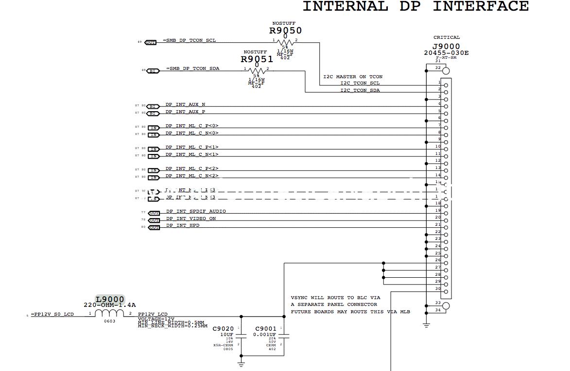 sostituzione L9000 iMac 21 con schermo nero