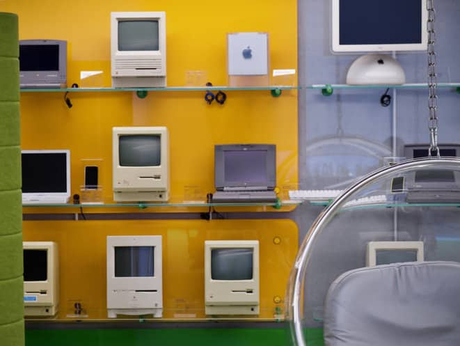assistenza apple computer vintage
