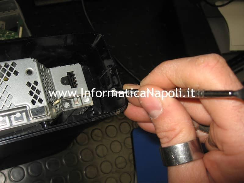 aprire microsoft xbox 360