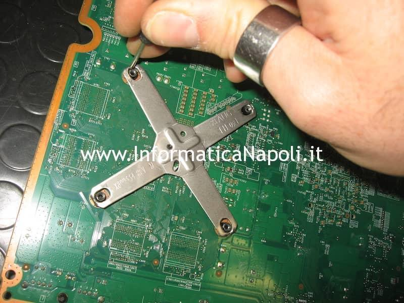 x-clamp scheda logica xbox