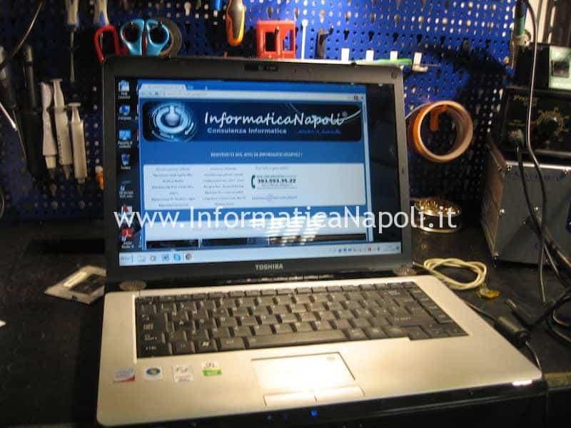 eliminare richiesta password avvio toshiba A200 A205