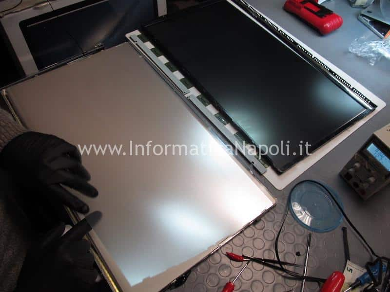 riparazione LED display cinema 24 27 e thunderbolt