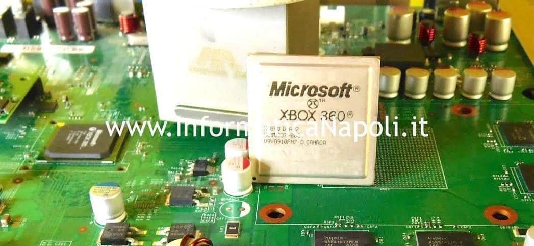 reballing gpu xbox 360 slim