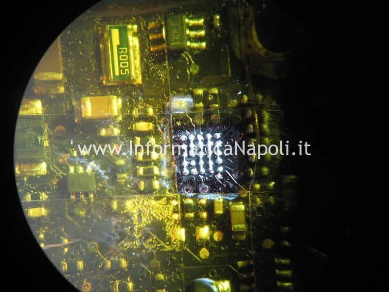 Rimozione LP8550 driver led A1278 macbook 13