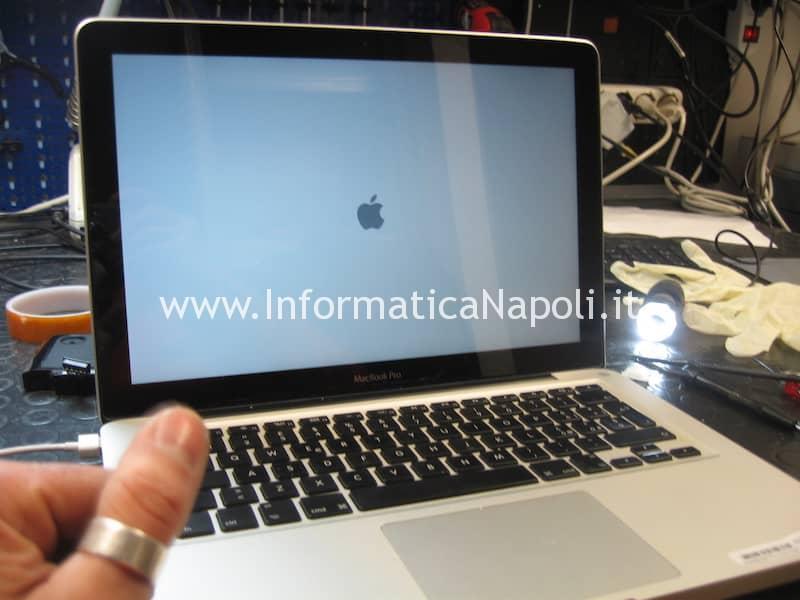 assistenza lvds apple macbook 13 a1278 retroilluminazione riparato