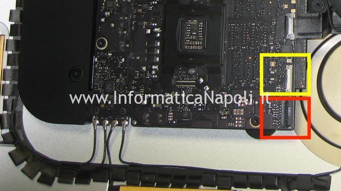flat video LVDS Apple iMac 21.5 slim A1418 2012 2013 2014 2015
