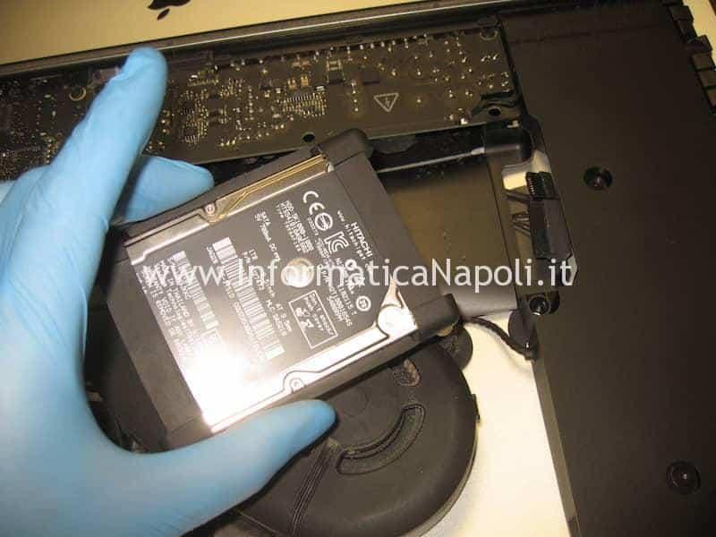 configurazione SSD Apple iMac 21.5 slim A1418 2012 2013 2014 2015