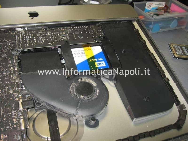 come installare SSD Apple iMac 21.5 slim A1418 2012 2013 2014 2015