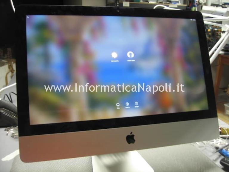 Problema blocco codice iMac 21.5 A1418