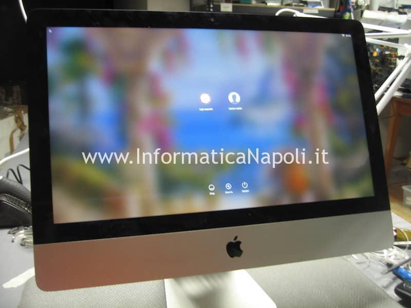 assistenza Apple imac A1418