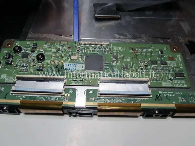 smontare scheda logica display imac 27 21.5 A1312 A1311 LGT2795-R LGT2795-L 661-5576 612-0075