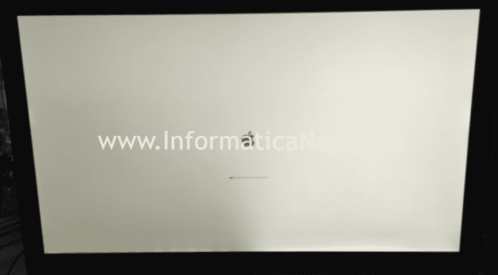 problema illuminazione backlight led display imac 27 pollici