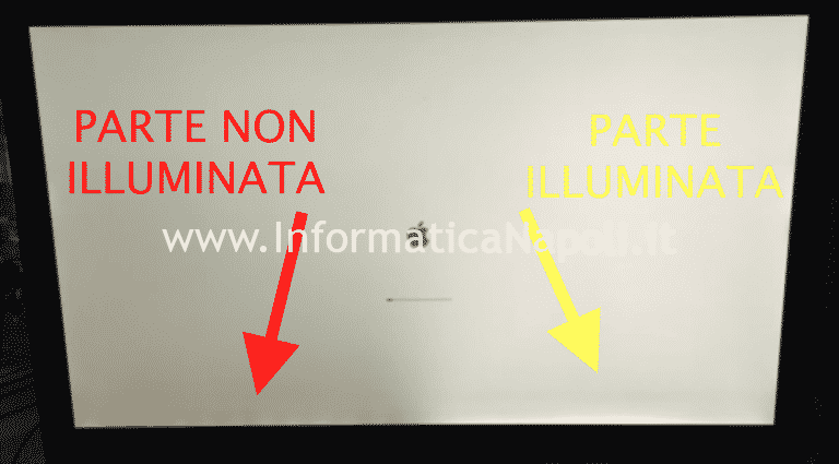 Problema illuminazione led display iMac 27